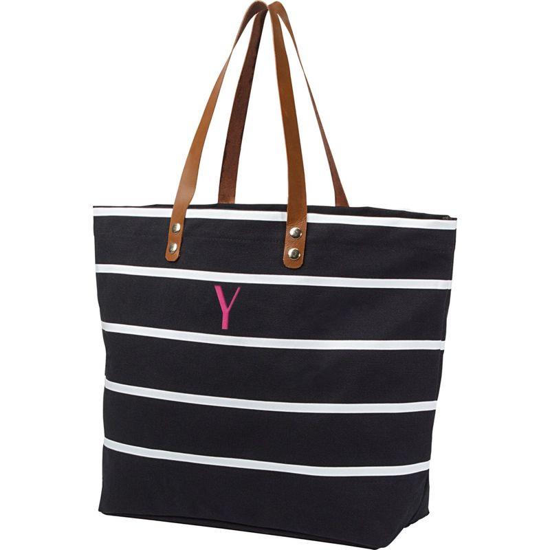 キャシーズ コンセプツ メンズ トートバッグ バッグ Monogram Tote Bag Black - Y