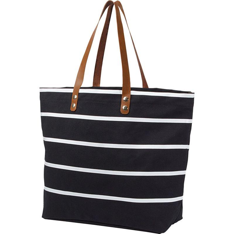 キャシーズ コンセプツ メンズ トートバッグ バッグ Monogram Tote Bag Black Plain