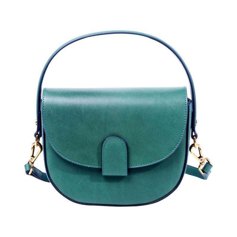 フォレッセンス メンズ ボディバッグ・ウエストポーチ バッグ Alice Saddle Bag Green
