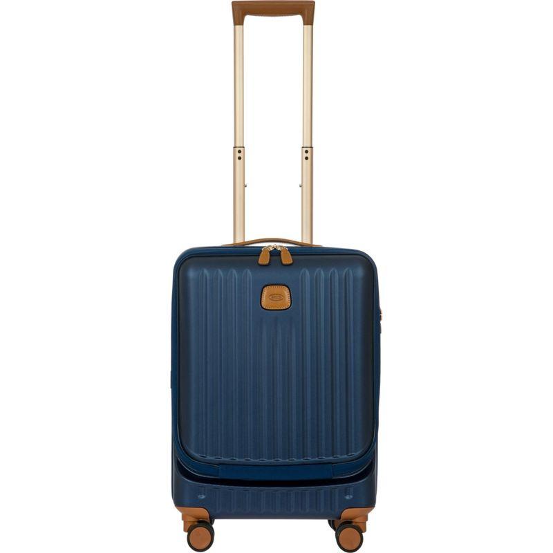 ブリックス メンズ スーツケース バッグ Capri 21 Hardside Spinner Carry-on with Pocket Matte Blue