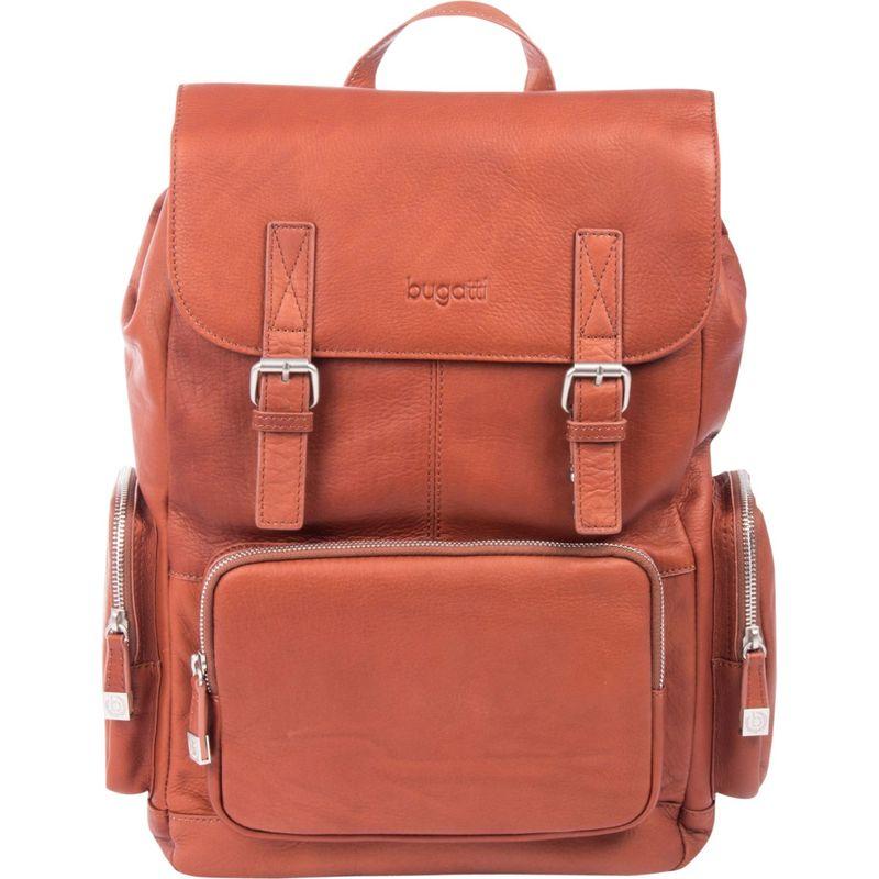 ブガッティ メンズ バックパック・リュックサック バッグ Sartoria Top Grain Leather Backpack Cognac