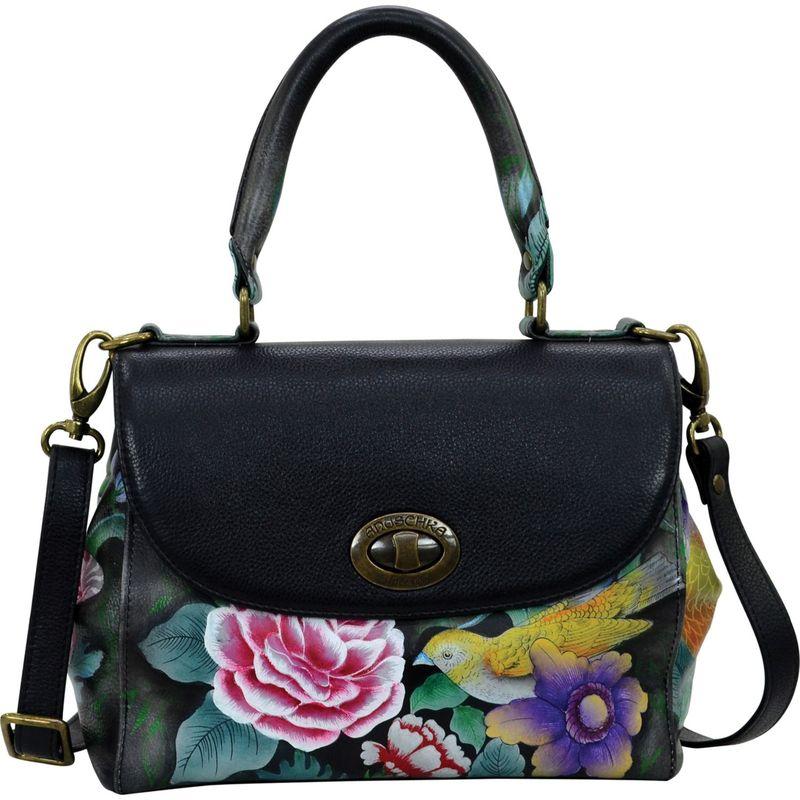 アヌシュカ メンズ ハンドバッグ バッグ Medium Flap Satchel Vintage Bouquet