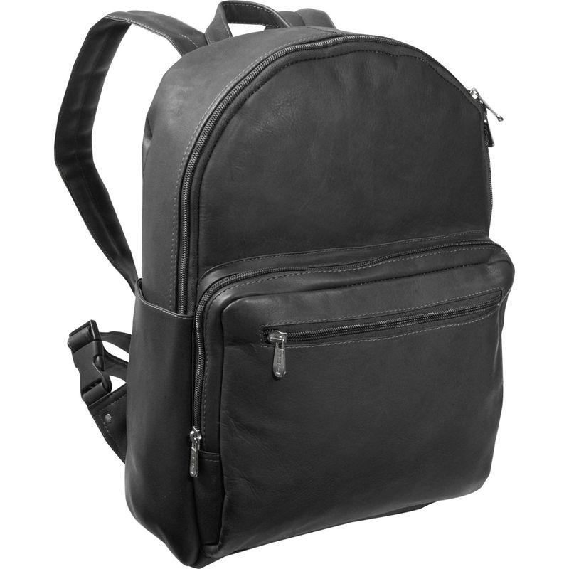 ピエール メンズ バックパック・リュックサック バッグ Traditional Backpack Black