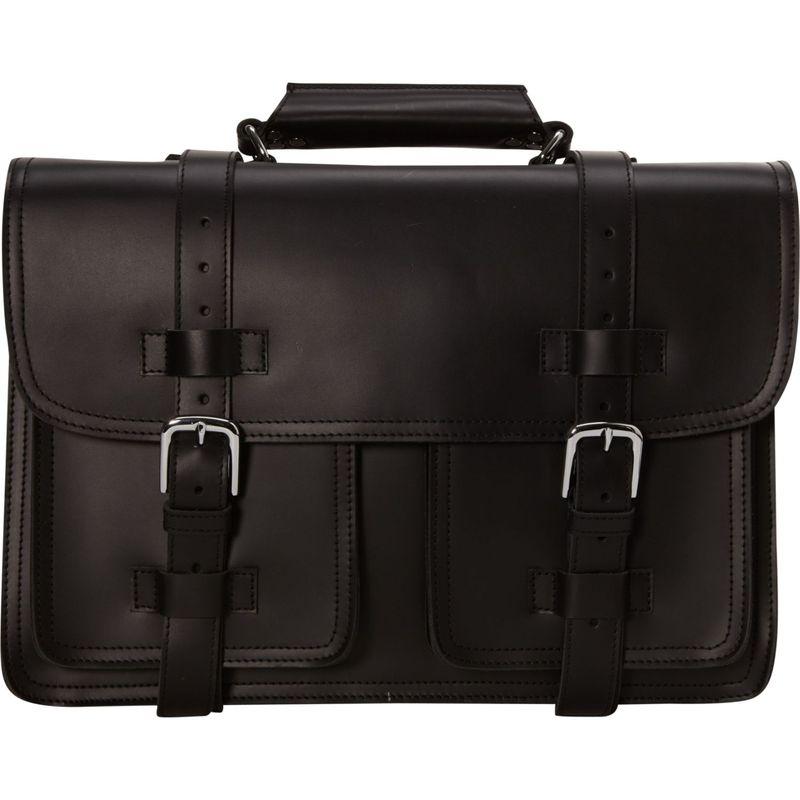 ヴァガボンドトラベラー メンズ スーツケース バッグ 18 CEO Large Leather Briefcase Black
