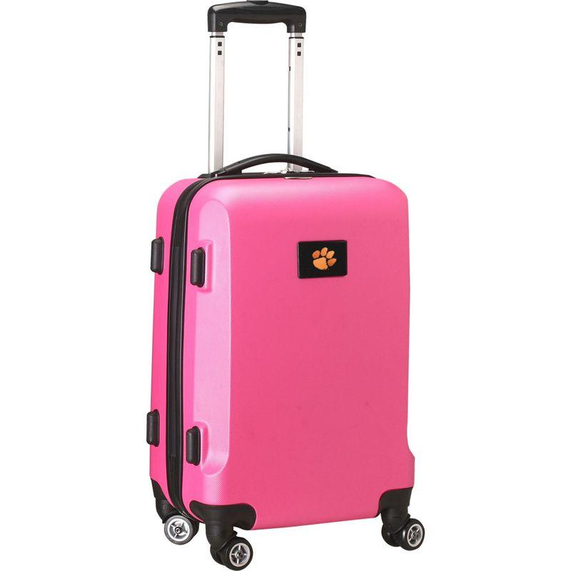 デンコスポーツ メンズ スーツケース バッグ NCAA 20 Domestic Carry-On Pink Clemson University Tigers