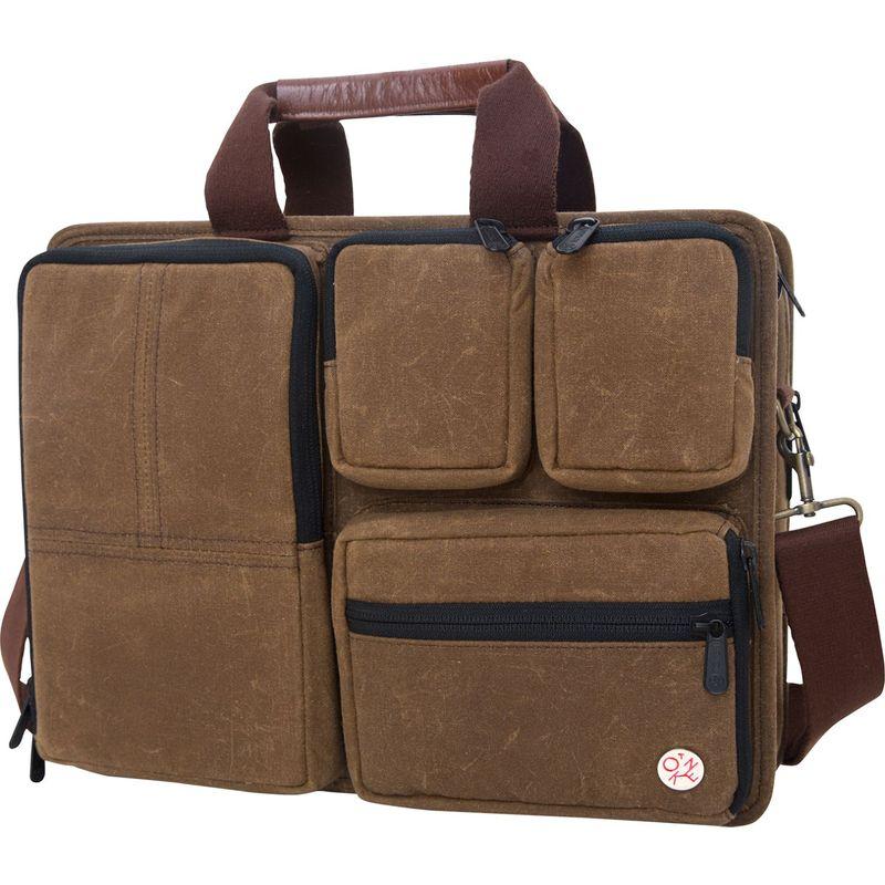 トーケン メンズ スーツケース バッグ Waxed Hewes Briefcase Field Tan