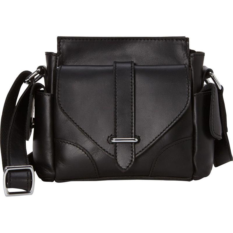 ヴァガボンドトラベラー メンズ ショルダーバッグ バッグ 8.5 Leather Satchel Bag Black