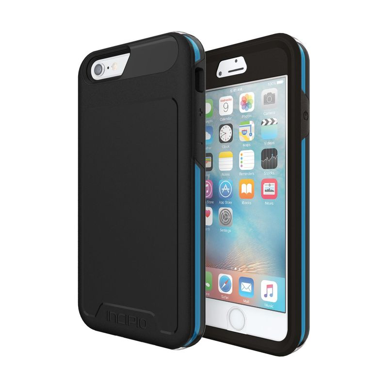インシピオ メンズ PC・モバイルギア アクセサリー Performance Series Level 5 for iPhone 6/6s Black/Cyan