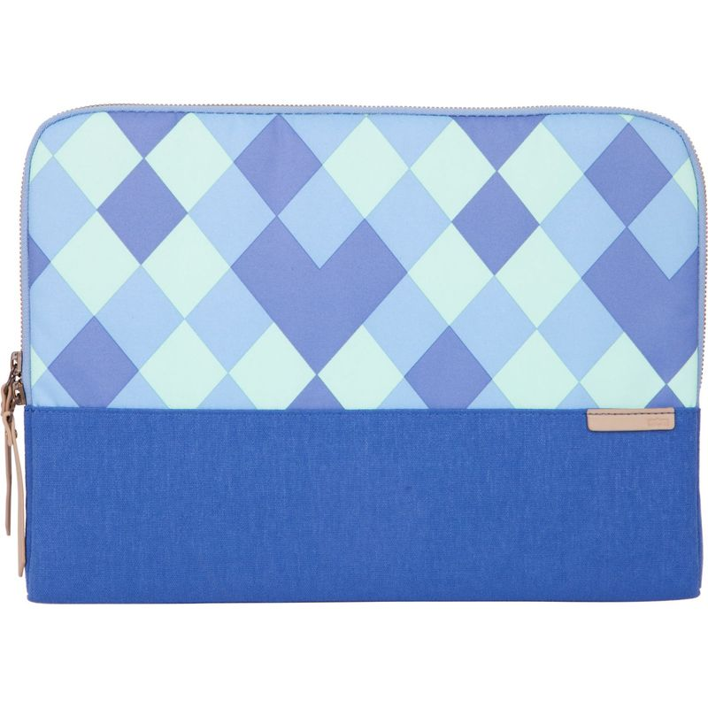 STMグッズ メンズ スーツケース バッグ 13-inch Grace Small Sleeve Blue Diamonds