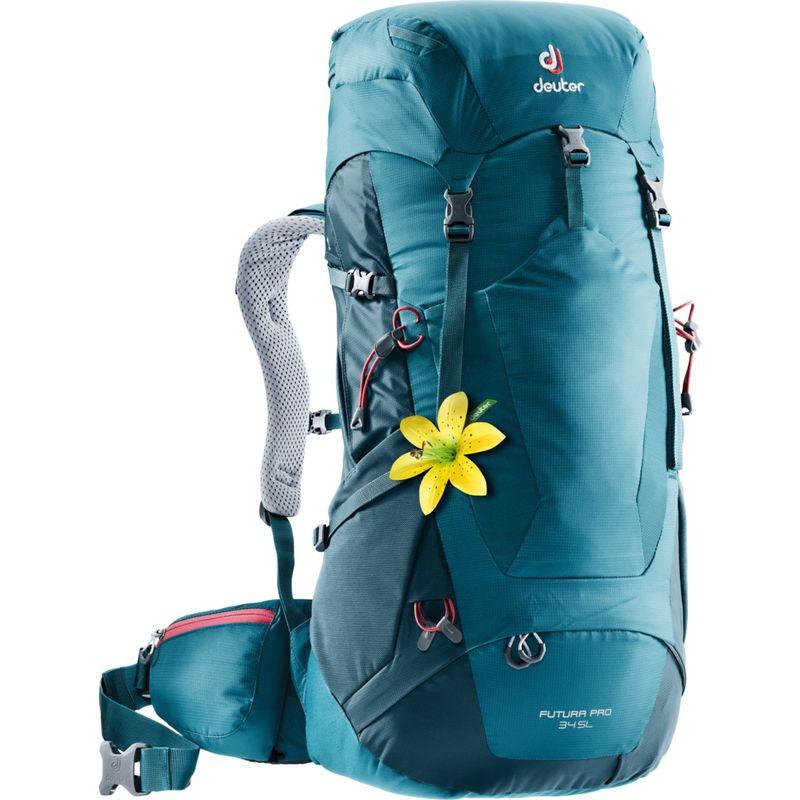 ドイター レディース バックパック・リュックサック バッグ Womens Futura PRO 34 SL Hiking Pack Denim/Arctic