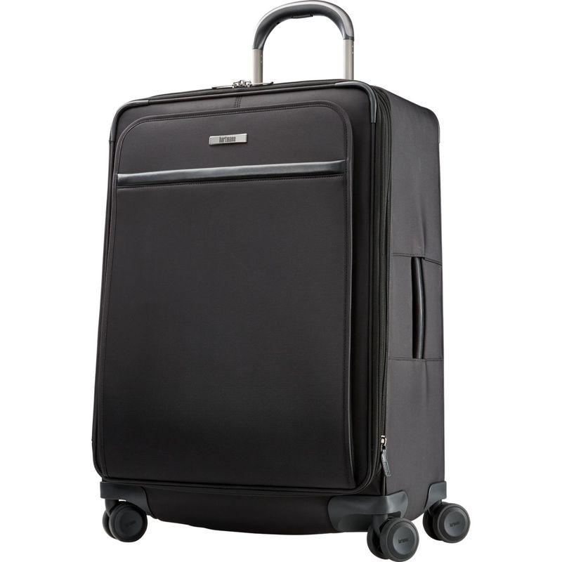 ハートマンラッゲージ メンズ スーツケース バッグ Metropolitan 2 Medium Journey Expandable Spinner Deep Black