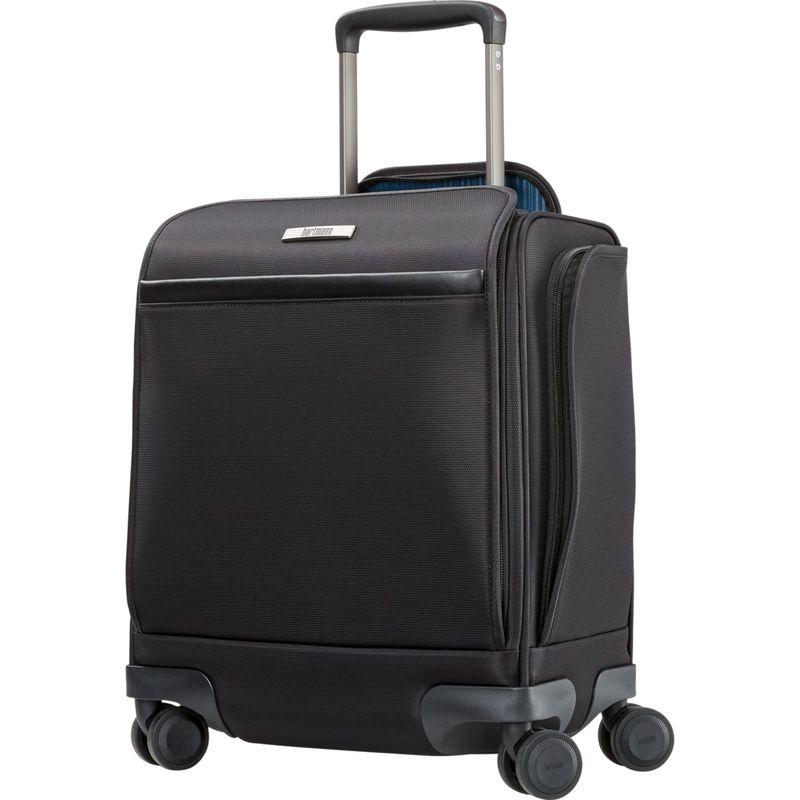 ハートマンラッゲージ メンズ スーツケース バッグ Metropolitan 2 Underseat Carry On Spinner Deep Black