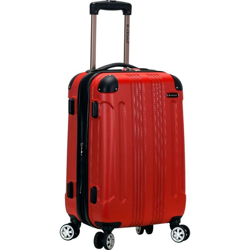 ロックランド メンズ スーツケース バッグ Sonic 20 Hardside Spinner Carry-On Red