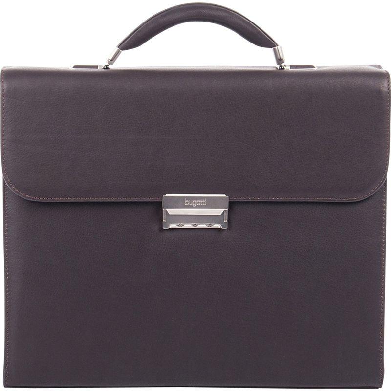 ブガッティ メンズ スーツケース バッグ Sartoria Small Leather Briefcase Brown
