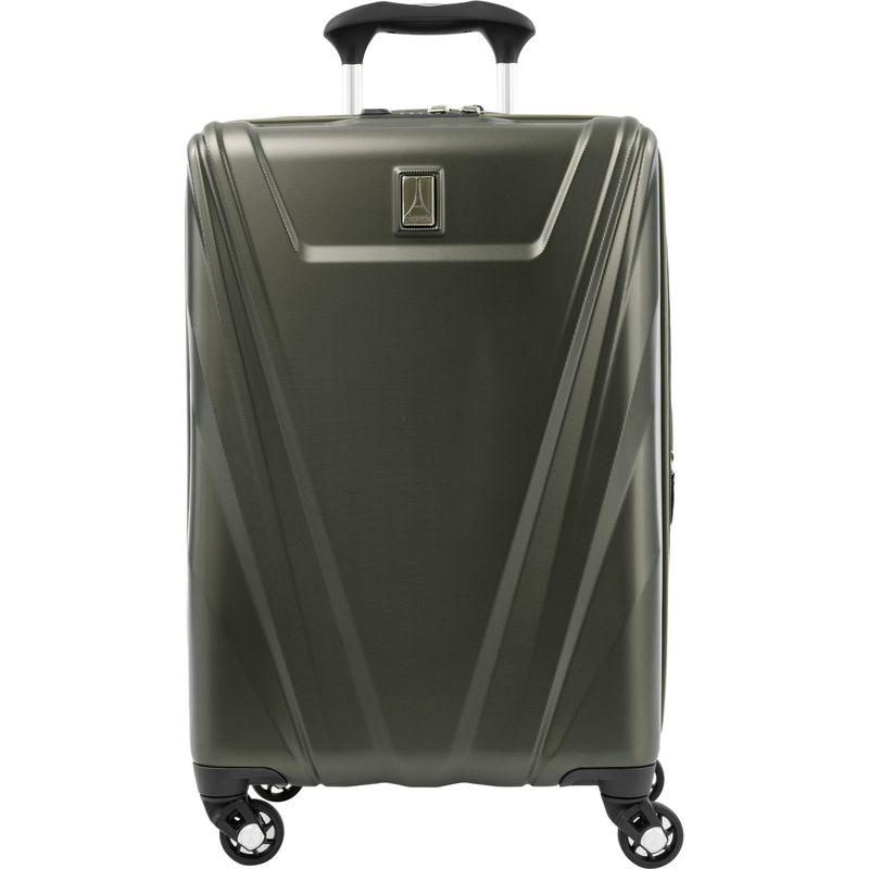 トラベルプロ メンズ スーツケース バッグ Maxlite 5 21 Expandable Hardside Carry-On Spinner Green