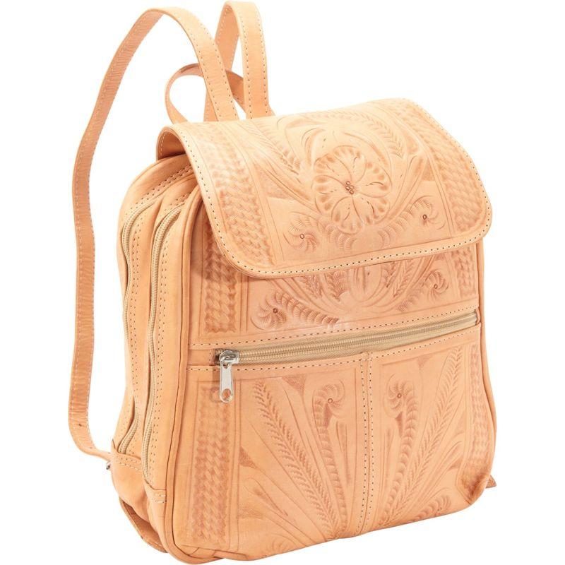 ロピンウェスト メンズ バックパック・リュックサック バッグ Backpack Handbag Natural