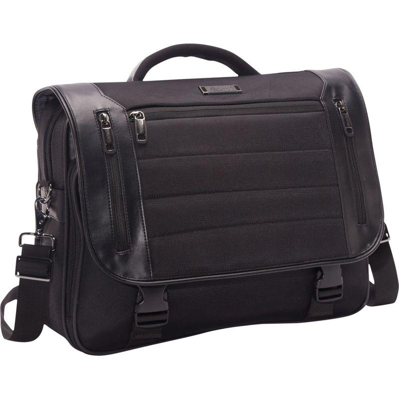 ケネスコール メンズ スーツケース バッグ Port Ride Home - Flapover Laptop Case Black