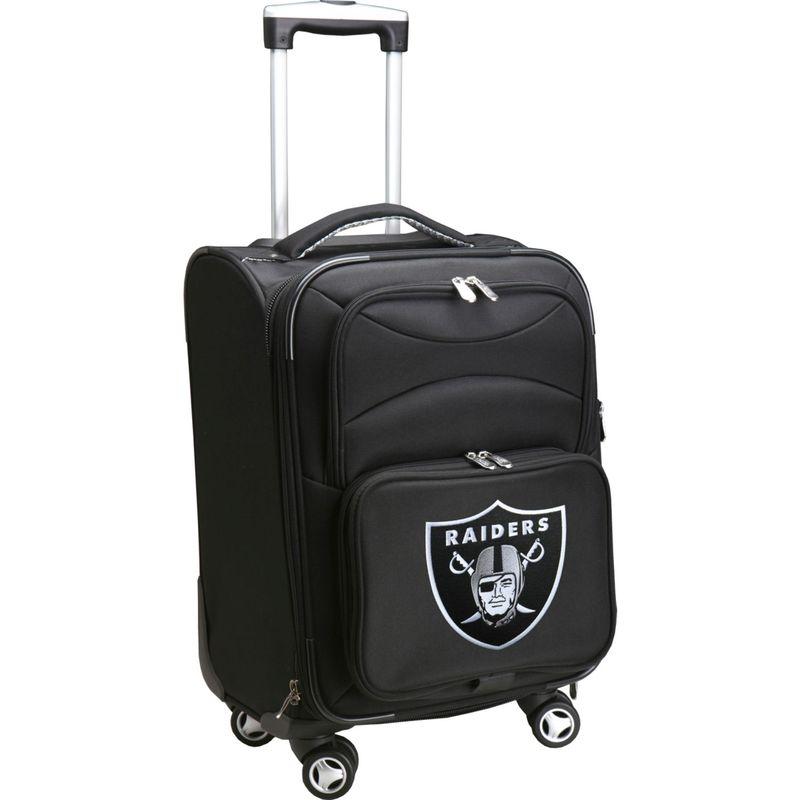 デンコスポーツ メンズ スーツケース バッグ NFL 20 Domestic Carry-On Spinner Oakland Raiders