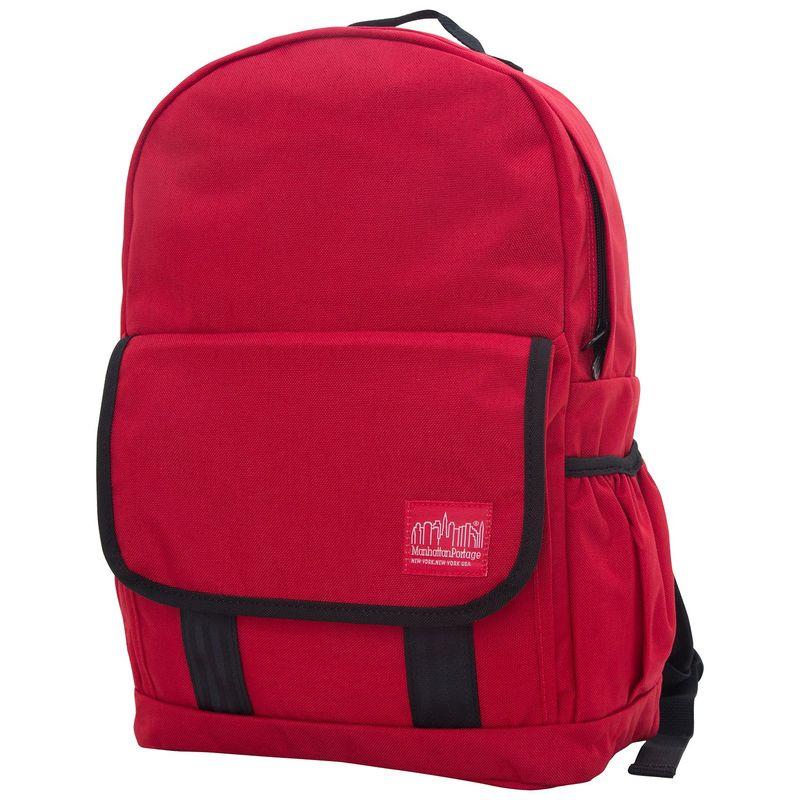マンハッタンポーテージ メンズ バックパック・リュックサック バッグ Washington Heights Backpack Red