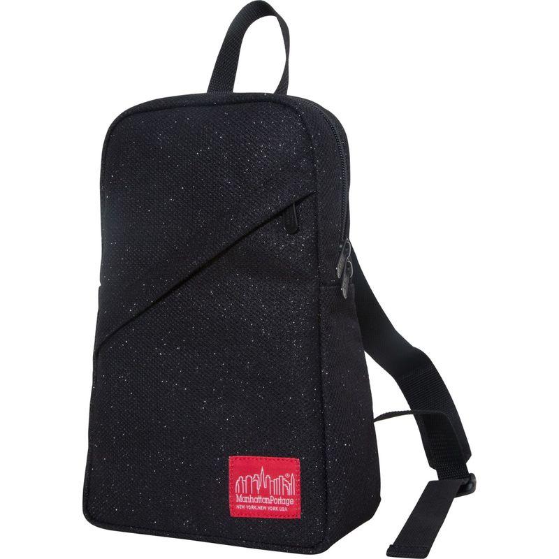 マンハッタンポーテージ メンズ バックパック・リュックサック バッグ Midnight Ellis Backpack with Zipper Black