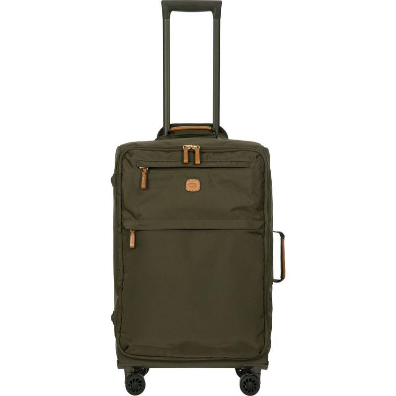 """ブリックス メンズ スーツケース バッグ X-Bag 25"""" Frame Spinner Olive"""