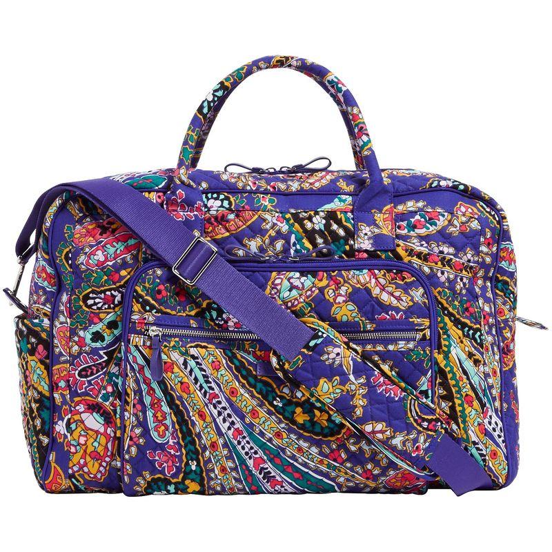 ベラブラッドリー メンズ スーツケース バッグ Iconic Weekender Travel Bag Romantic Paisley
