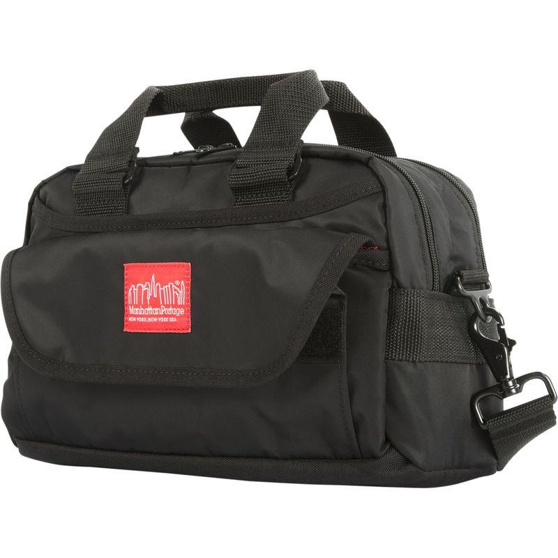 マンハッタンポーテージ メンズ ショルダーバッグ バッグ Flight Nylon Lenox Shoulder Bag Black