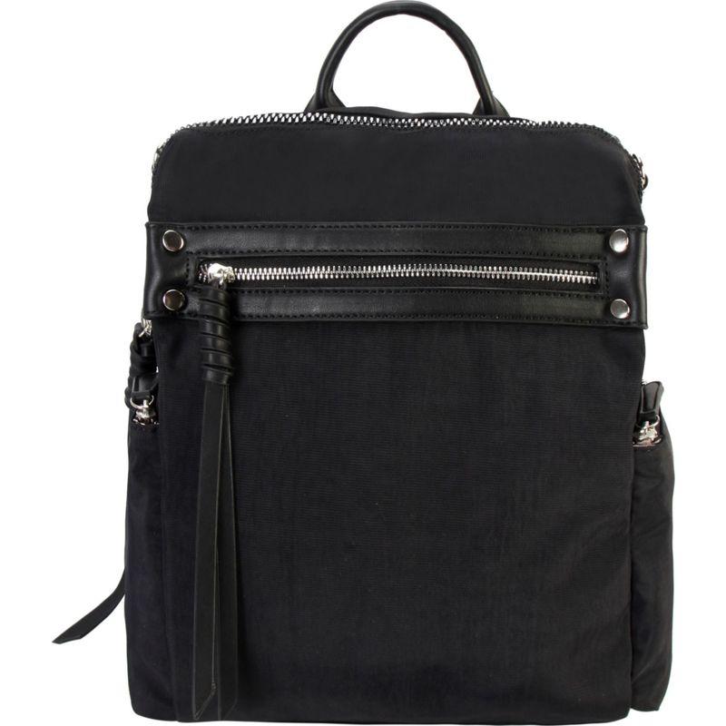 ディオフィ メンズ バックパック・リュックサック バッグ Fashion Two Way Lightweight Backpack Black