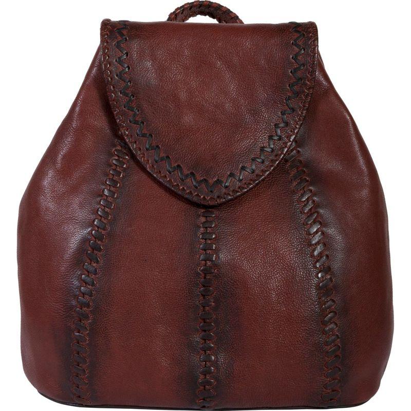 スカーリー メンズ バックパック・リュックサック バッグ Kalahari Leather Ladies Backpack Tan