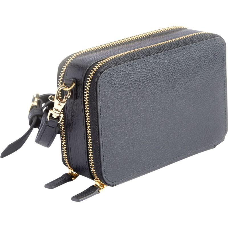 ロイスレザー メンズ ボディバッグ・ウエストポーチ バッグ Mini Crossbody Bag Black