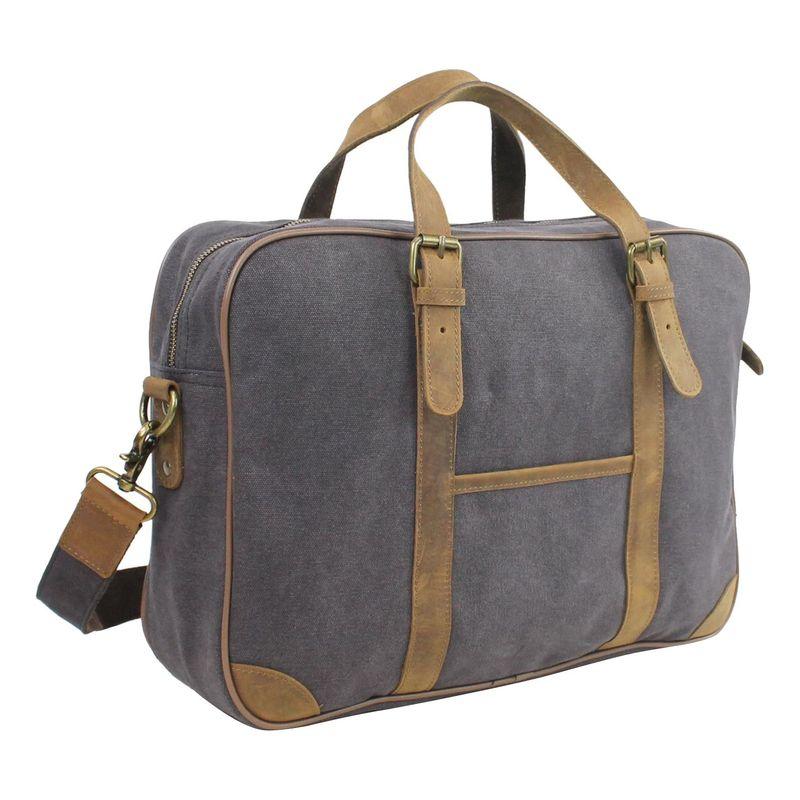 ヴァガボンドトラベラー メンズ スーツケース バッグ 16 Casual Laptop Messenger Bag Grey