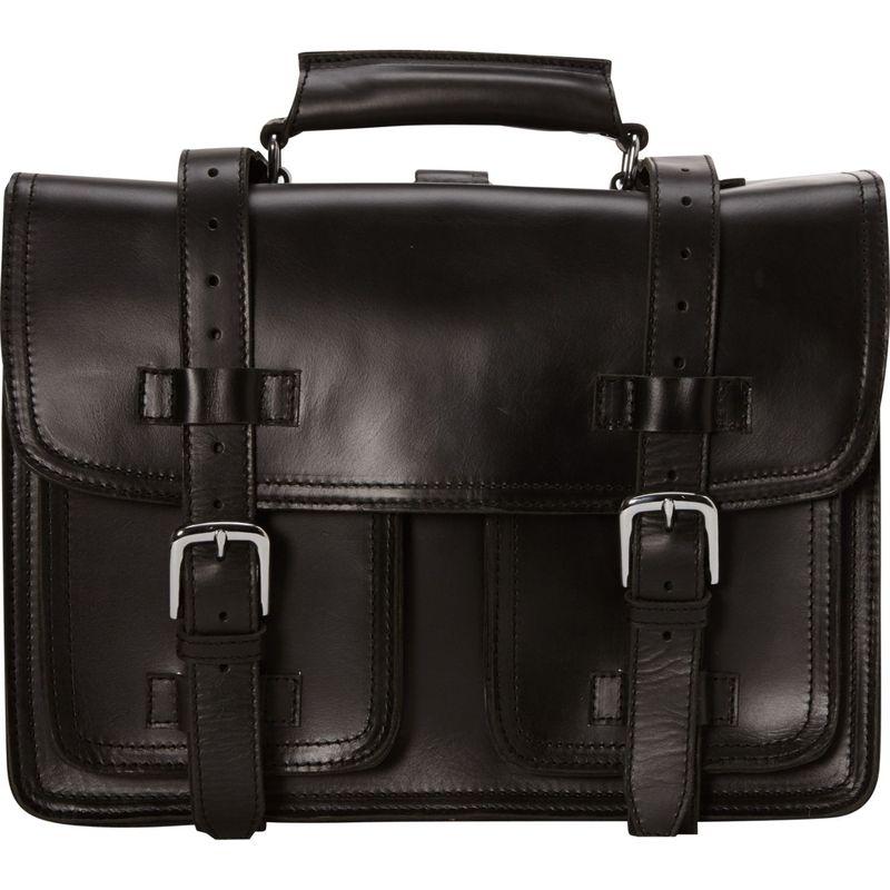 ヴァガボンドトラベラー メンズ スーツケース バッグ 16 CEO Full Leather Briefcase & Backpack Black