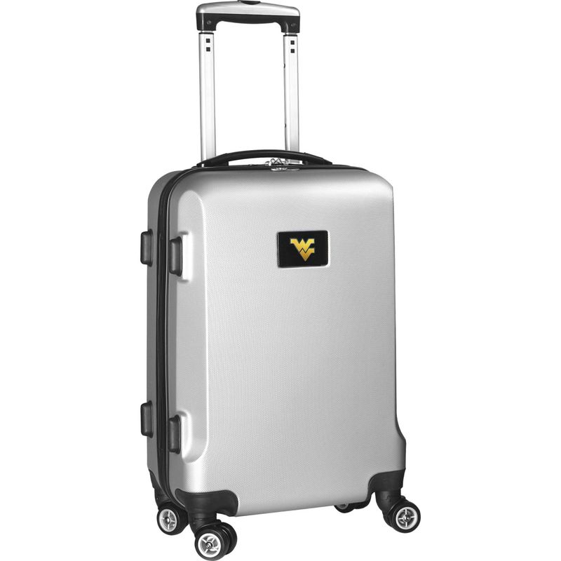 デンコスポーツ メンズ スーツケース バッグ NCAA 20 Domestic Carry-On Silver West Virginia University Mountaineers