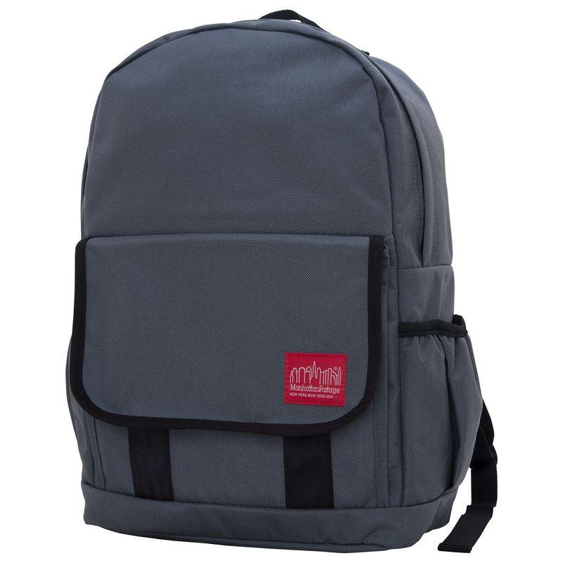 マンハッタンポーテージ メンズ バックパック・リュックサック バッグ Washington Heights Backpack Gray