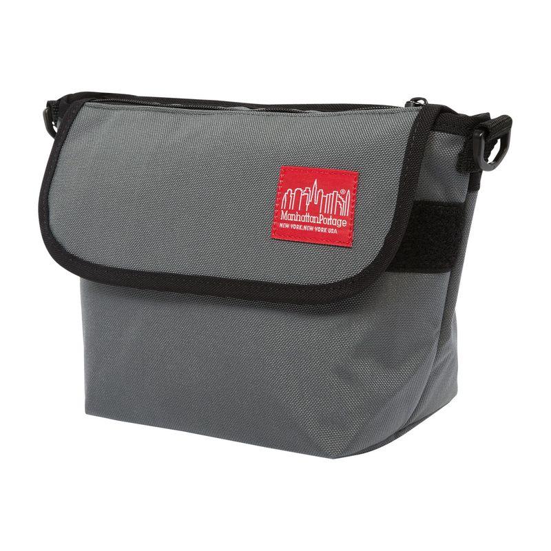 マンハッタンポーテージ メンズ ショルダーバッグ バッグ College Place Handle Bar Bag Gray