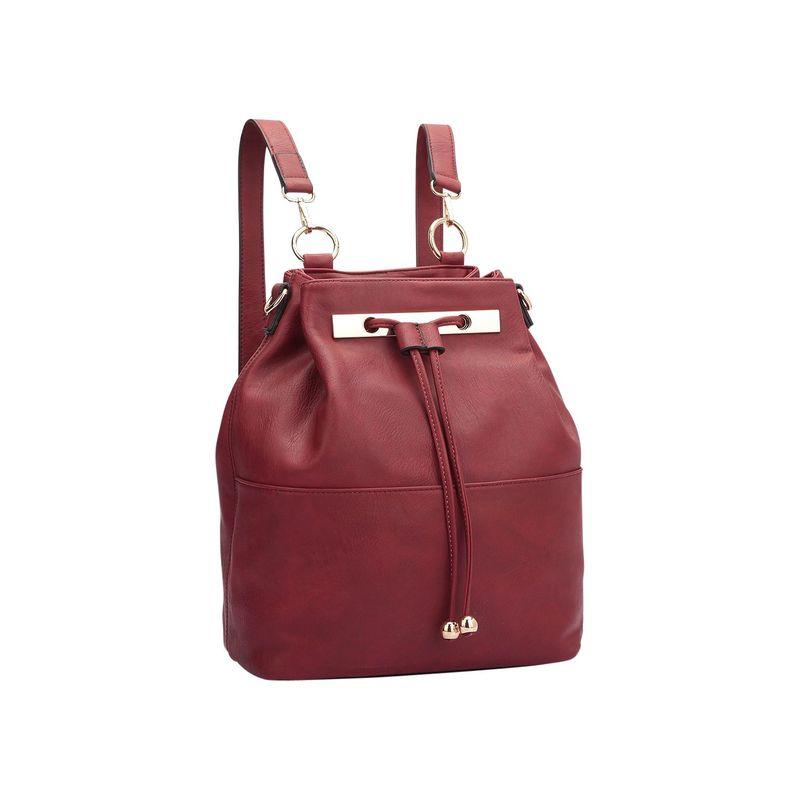 ダセイン メンズ バックパック・リュックサック バッグ Convertible Drawstring Bucket Backpack Red