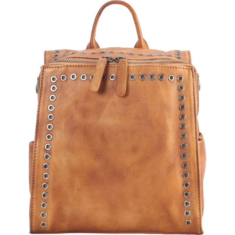ディオフィ メンズ バックパック・リュックサック バッグ Circular Stud Medium Backpack Brown