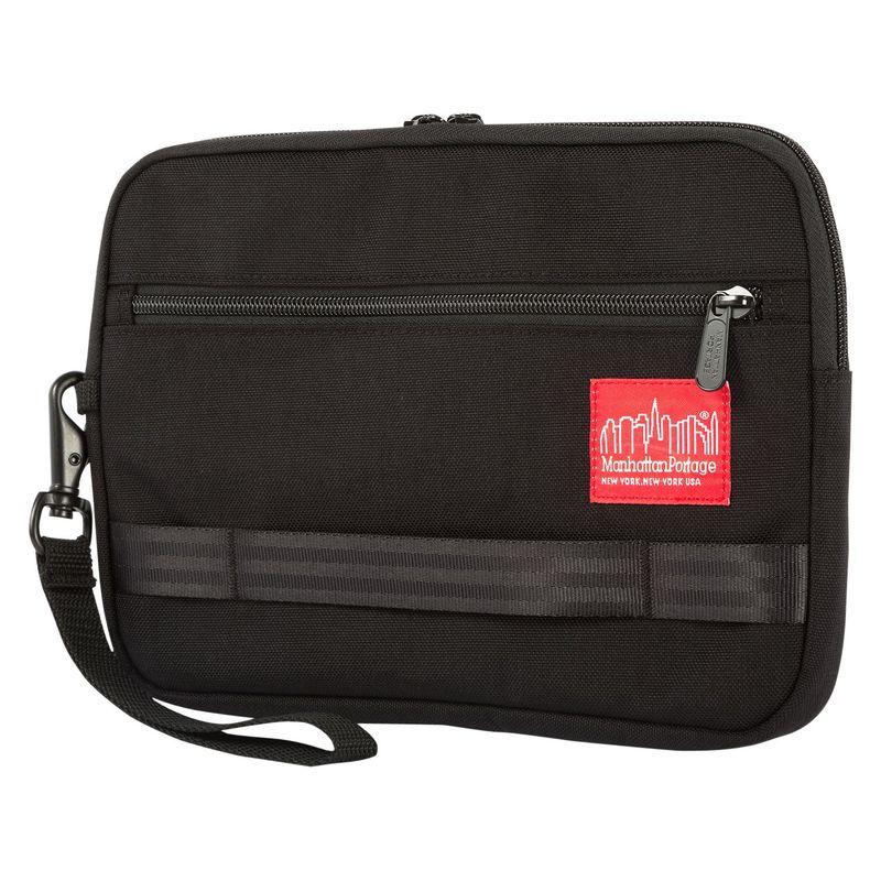 マンハッタンポーテージ メンズ スーツケース バッグ Henry Portfolio Case - Medium Black