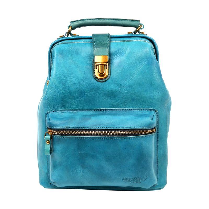 オールドトレンド メンズ バックパック・リュックサック バッグ Doctor Backpack Convertible Turquoise