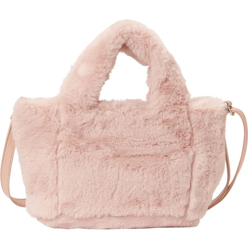68a464f5a28a ティーシャツアンドジーンズ メンズ トートバッグ バッグ All Over Plush Small Tote Blush