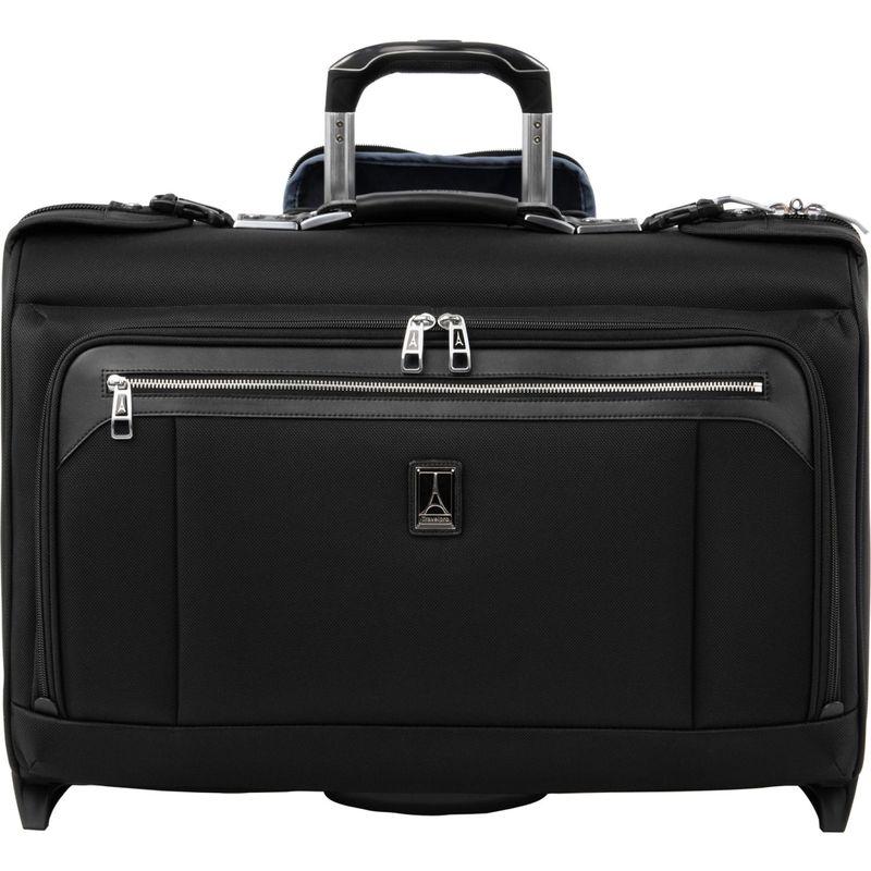 トラベルプロ メンズ スーツケース バッグ Platinum Elite Carry-On Rolling Garment Bag Shadow Black