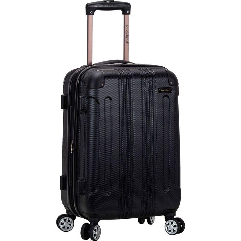 ロックランド メンズ スーツケース バッグ Sonic 20 Hardside Spinner Carry-On Black