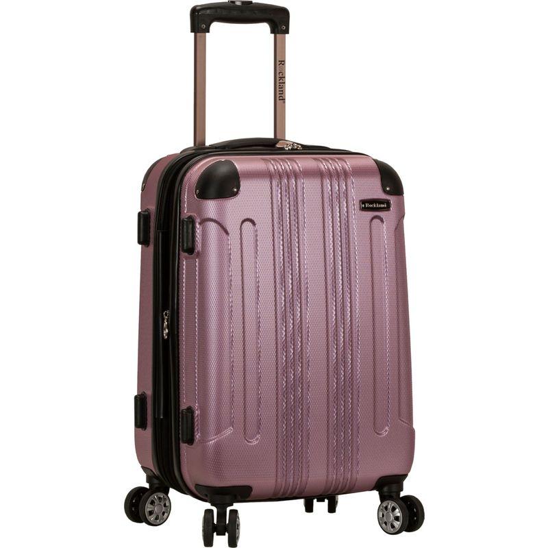 ロックランド メンズ スーツケース バッグ Sonic 20 Hardside Spinner Carry-On Pink