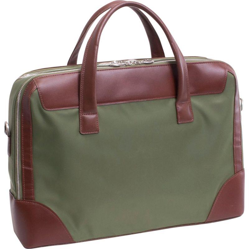 マックレイン メンズ スーツケース バッグ Harpswell Brief Green