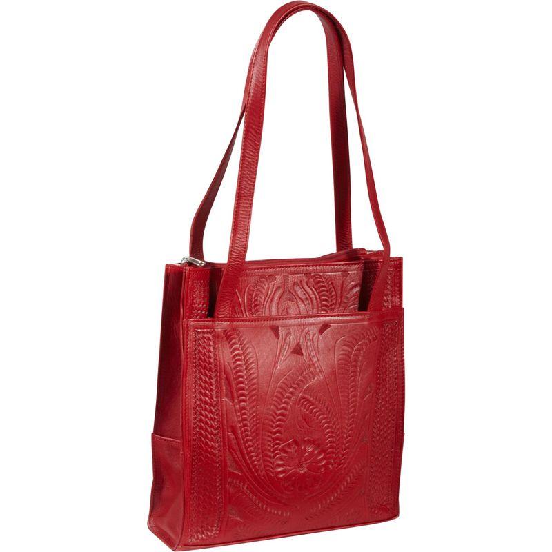 ロピンウェスト メンズ トートバッグ バッグ Tote Bag Red