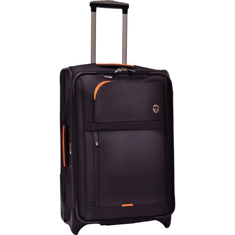 トラベラーズチョイス メンズ スーツケース バッグ Birmingham 25 Expandable Rollaboard Black
