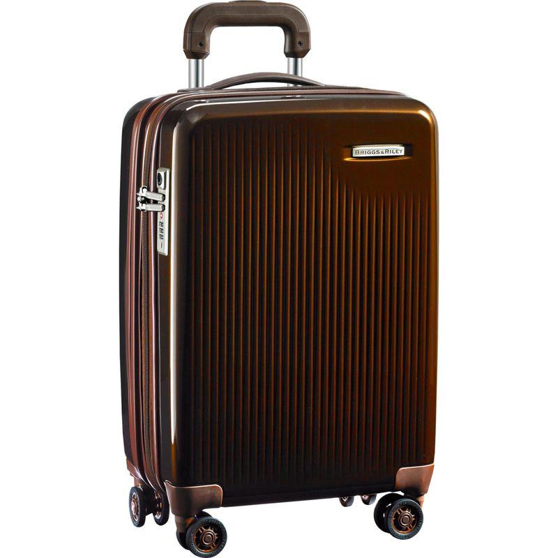 ブリグスアンドライリー メンズ スーツケース バッグ Sympatico CX Int'l Carry-On Expandable Spinner Bronze