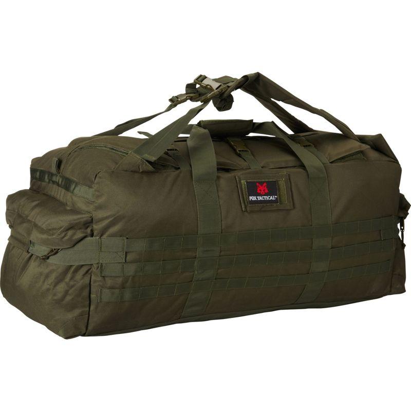 フォックスアウトドア メンズ ボストンバッグ バッグ Jumbo Patrol Bag Olive Drab