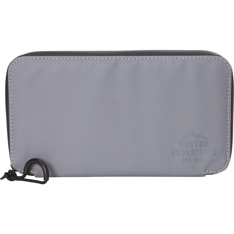 バクストン メンズ 財布 アクセサリー Thor Essential Wallet Grey
