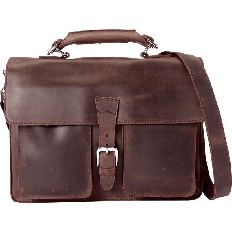 ヴァガボンドトラベラー メンズ スーツケース バッグ Pro Briefcase Dark Brown